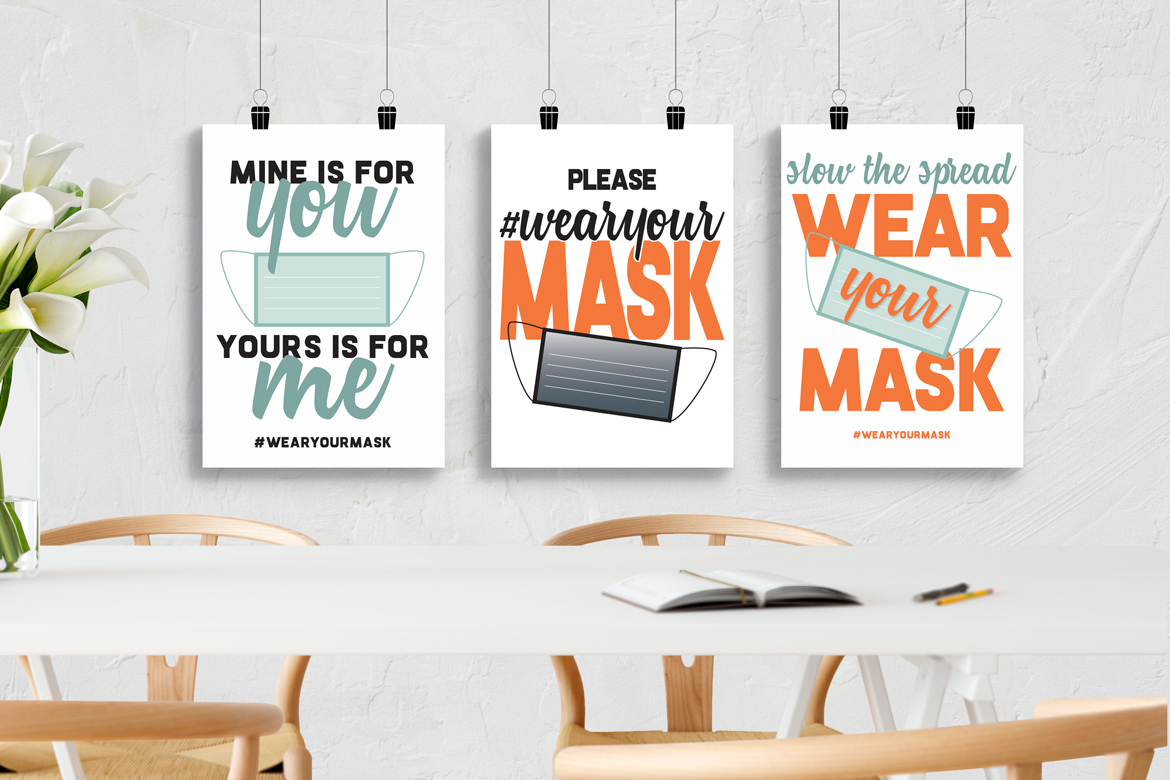 WEAR A MASK and download my free printable signs!